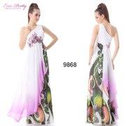 Модные длинные шикарные платья