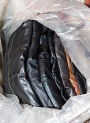 Секонд хенд. Куртки кожа А-класс. Новая и практически без износа.