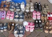 Новая детская обувь. Микс. Лето. Европейские бренды. Цена - 20 евро/кг