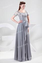 Вечернее изысканное платье.