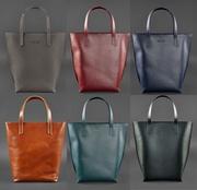 Женская сумка шоппер D.D.,  кожа,  6 цветов