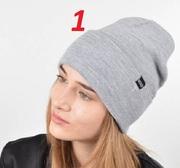 Стильная молодежная демисезонная шапка