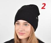 Молодежная демисезонная шапка